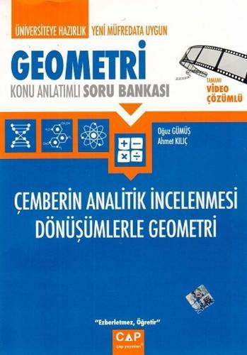 Çap Yayınları Geometri Çemberin Analitik İncelenmesi Dönüşümlerle Geometri Konu Anlatımlı Soru Bankası
