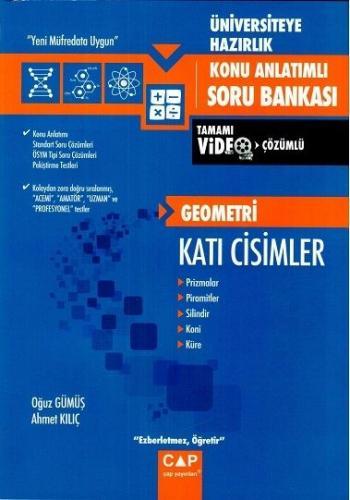 Çap Yayınları Geometri Katı Cisimler Konu Anlatımlı Soru Bankası Oğuz