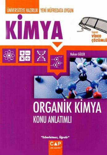 Çap Üniversiteye Hazırlık Organik Kimya Konu Anlatımı