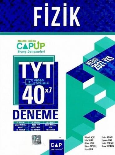 Çap Yayınları TYT Fizik 40 x 7 Up Deneme Erdal Şahin