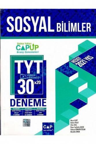 Çap Yayınları TYT Sosyal Bilimler 30x20 Video Çözümlü Deneme Komisyon