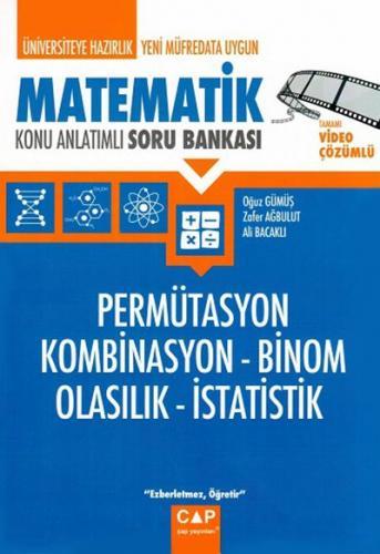 Çap Üniversiteye Hazırlık Matematik Permütasyon Kombinasyon Binom Olasılık İstatistik