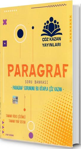 Çöz Kazan Yayınları Paragraf Soru Bankası