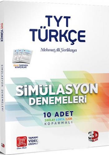 3D Yayınları TYT Türkçe Simülasyon Denemeleri