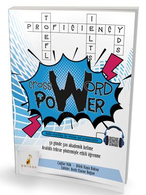 Crossword Power 50 Günde 500 Akademik Kelime %44 indirimli Çağlar Kök
