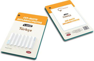 Data 5. Sınıf Türkçe Cep - Matik Katlamalı Poster