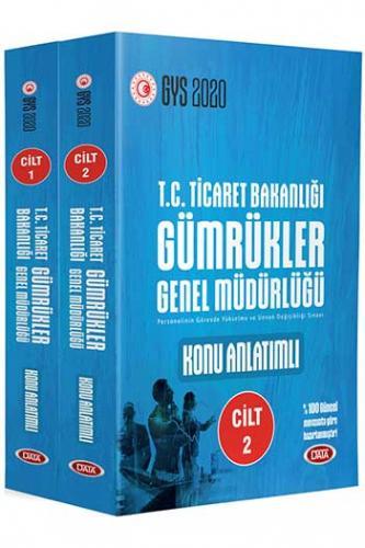 Data Yayınları 2020 GYS T.C. Ticaret Bakanlığı Gümrükler Genel Müdürlüğü Hazırlık Kitabı