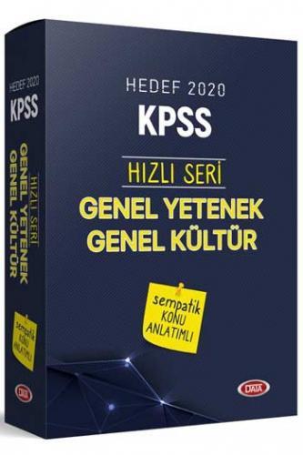 Data Yayınları 2020 KPSS Genel Kültür Genel Yetenek Sempatik Konu Anlatımlı Set