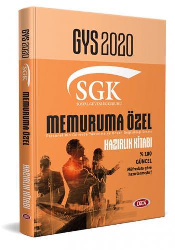 Data Yayınları 2020 GYS SGK Memuruma Özel Hazırlık Kitabı
