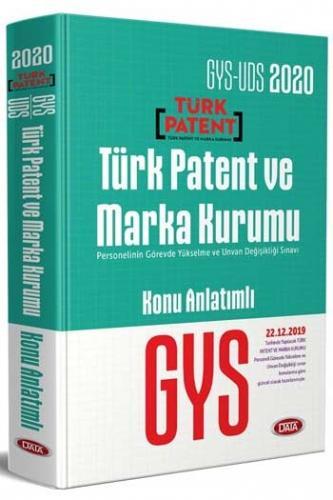 Data Yayınları 2020 GYS Türk Patent ve Marka Kurumu Konu Anlatımlı