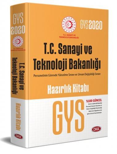 Data Yayınları 2020 GYS Sanayi ve Teknoloji Bakanlığı Konu Anlatımlı Hazırlık Kitabı