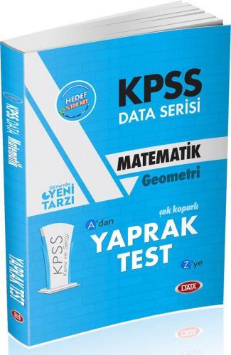 Data KPSS Matematik Çek Kopar Yaprak Test 2019 %40 indirimli