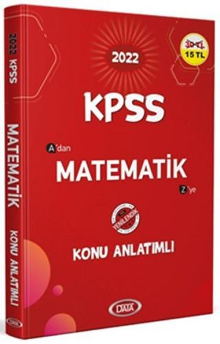 Data Yayınları 2022 KPSS Matematik Konu Anlatımlı Komisyon