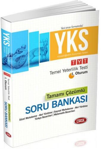 Data YKS 1. Oturum TYT Tamamı Çözümlü Soru Bankası