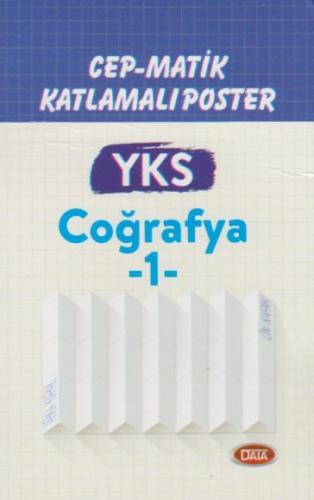Data YKS Coğrafya 1 Cep Matik Katlamalı Poster