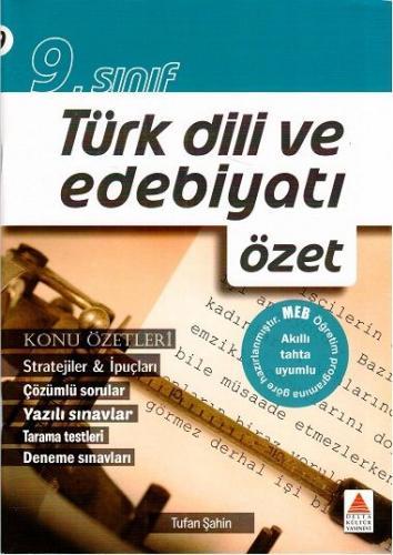 Delta Kültür 9. Sınıf Türk Dili ve Edebiyatı Konu Özetli Çözümlü Soru Bankası