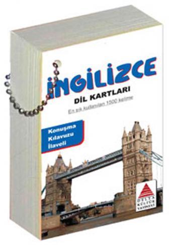 Delta Kültür İngilizce Dil Kartları