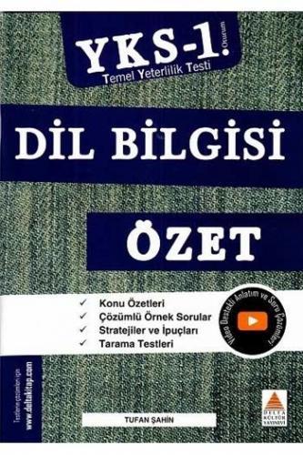 Delta Kültür Yayınları TYT Dil Bilgisi Özet