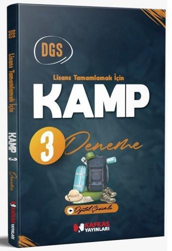Kafkas Yayınları 2021 DGS KAMP 3 Deneme Dijital Çözümlü Komisyon