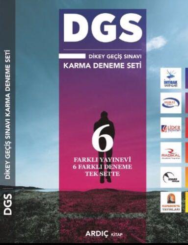 DGS Karma 6 Farklı Deneme Seti - Ardıç Kitap