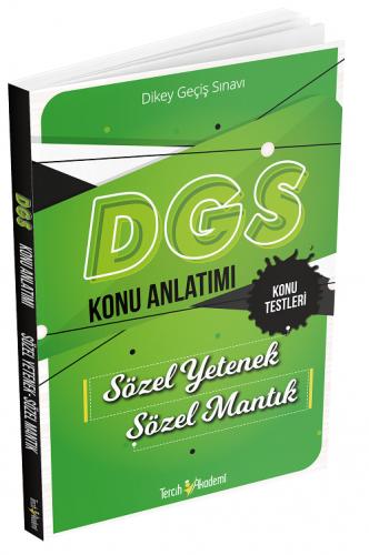 Tercih Akademi Yayınları DGS Sözel Yetenek Sözel Mantık Konu Anlatımı