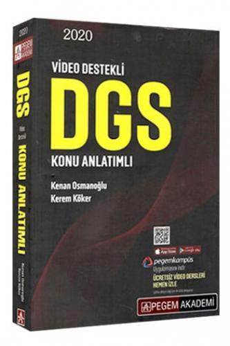 Pegem Yayınları 2020 DGS Konu Anlatımlı %40 indirimli Kenan Osmanoğlu