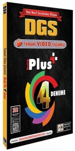 Mutlak Değer Yayınları DGS Mutlak Plus 4 Deneme Video Çözümlü Özgen Bu