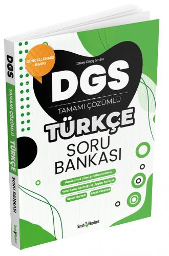 Tercih Akademi DGS Türkçe Soru Bankası Çözümlü Komisyon