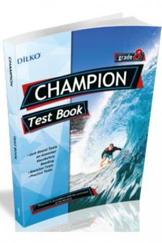 Dilko Yayıncılık 8. Sınıf Champion Test Book Komisyon