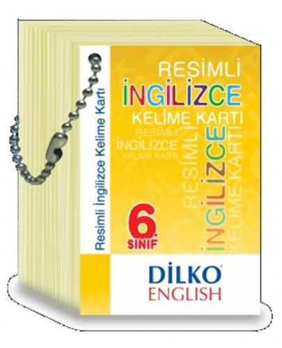 Dilko Yayınları 6. Sınıf Resimli İngilizce Kelime Kartı %30 indirimli