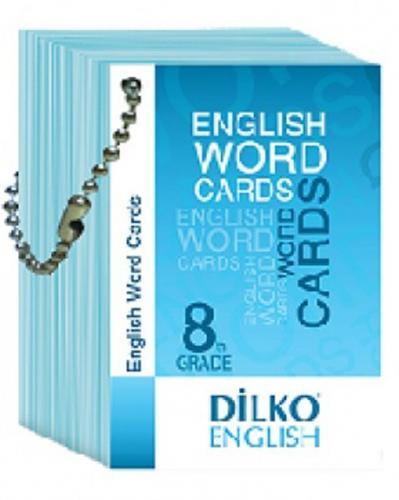 Dilko Yayınları 8. Sınıf Resimli İngilizce Kelime Kartı Komisyon