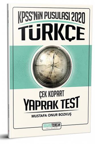 Doğru Tercih Yayınları 2020 KPSS'nin Pusulası Türkçe Çek Kopart Yaprak Test