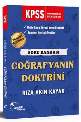 Doktrin Yayınları 2020 KPSS Coğrafyanın Doktrini Çözümlü Soru Bankası