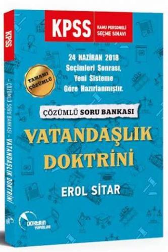Doktrin Yayınları 2020 KPSS Vatandaşlık Doktrini Çözümlü Soru Bankası