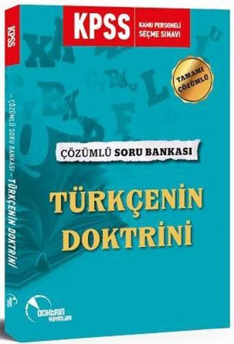 Doktrin Yayınları 2020 KPSS Türkçenin Doktrini Soru Bankası