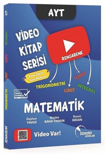 Doktrin Yayınları AYT Matematik Trigonometri Limit Türev İntegral Konu Özetli Soru Bankası Video Kitap Serisi