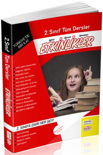 Editör Yayınları 2. Sınıf Tüm Dersler Etkinlikler Kitabı