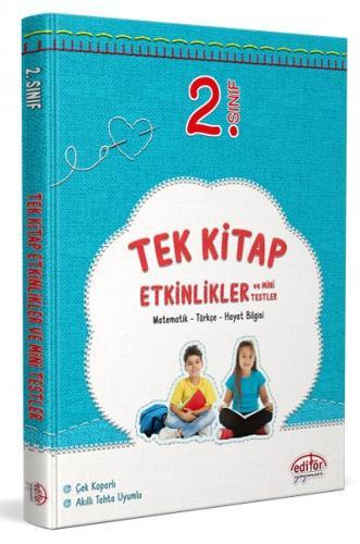 Editör Yayınları 2. Sınıf Tek Kitap Etkinlikler ve Mini Testler Komisy