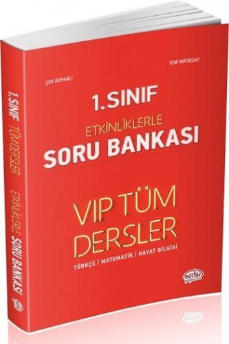 Editör Yayınları 1. Sınıf VIP Tüm Dersler Etkinliklerle Soru Bankası