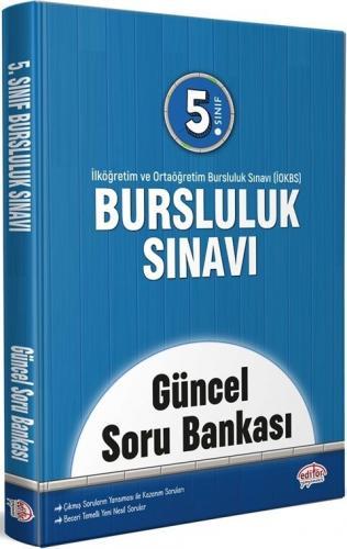 Editör Yayınları 5. Sınıf Bursluluk Sınavı Güncel Soru Bankası Komisyo