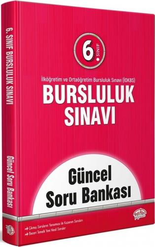Editör Yayınları 6. Sınıf Bursluluk Sınavı Güncel Soru Bankası Komisyo