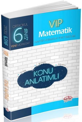 Editör 6. Sınıf VIP Matematik Konu Anlatımlı