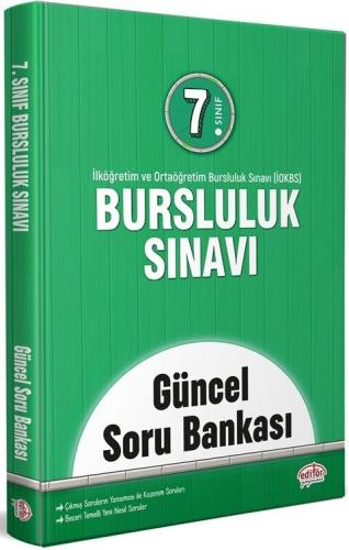 Editör Yayınları 7. Sınıf Bursluluk Sınavı Güncel Soru Bankası Komisyo