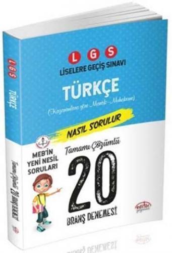 Editör LGS Türkçe 20 Branş Denemesi