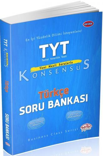 Editör Yayınları TYT Türkçe Konsensüs Soru Bankası