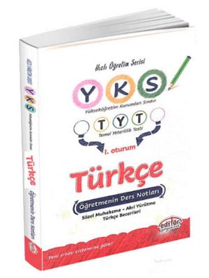 Editör YKS 1. Oturum TYT Türkçe Öğretmenin Ders Notları