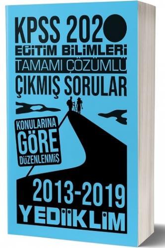Yediiklim Yayınları 2020 KPSS Eğitim Bilimleri Konularına Göre Tamamı