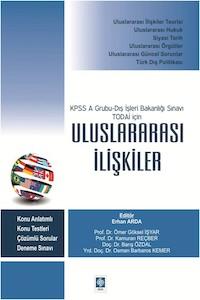Ekin KPSS A Grubu Dış İşleri Bakanlığı Sınavı TODAİ İçin Uluslararası İlişkiler (Kampanyalı)