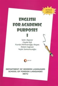 English For Academic Purposes 1-Odtü Yayıncılık