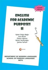 English For Academic Purposes 2-Odtü Yayıncılık